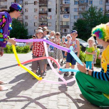 Клоун аниматоры детский праздник