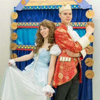 Золушка и принц аниматоры