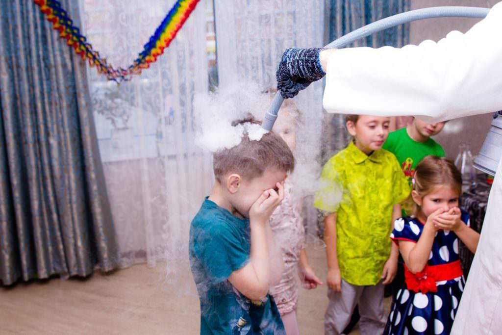 Химическое шоу для детей