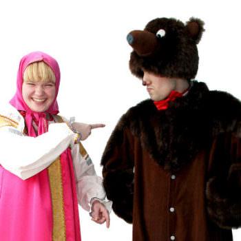 Аниматоры Маша и медведь на ваш праздник
